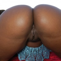 American Ebony Big Booty Bending