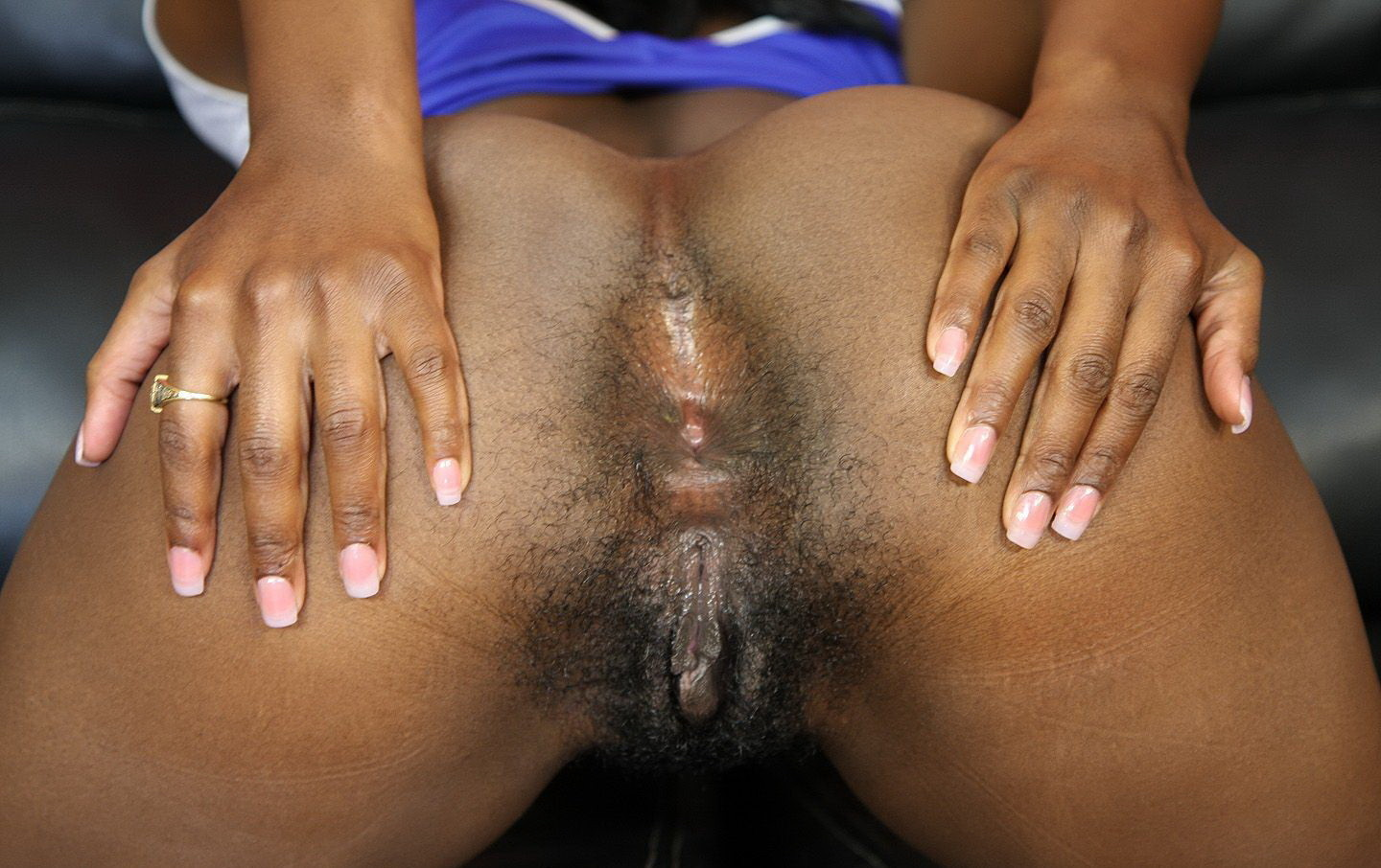 bending over naked ebony