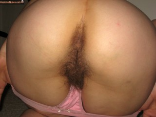 Hairy French Woman Ass Pussy