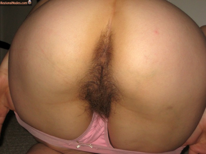 Women ass hairy
