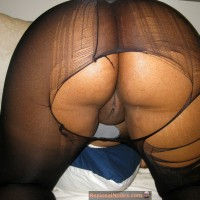 Matured South African Lady Ass Pussy Broken Hosiery