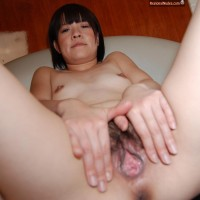 Amateur Japanese Girl Spreading Cunt