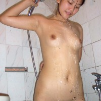 Chinese Teen Girl Showering nude