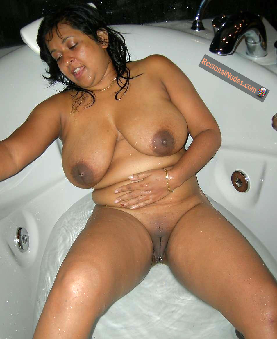 Chubby Busty Mexican Wife Nude In Bathtub  Regional Nude -1324