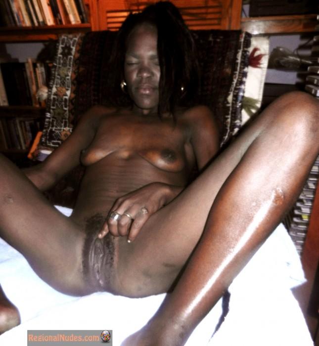 Mature female nudist