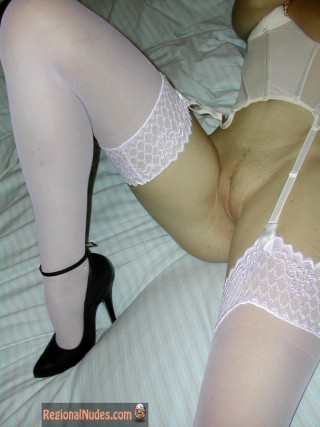 Shaved Russian Teen Pussy with Lingerie