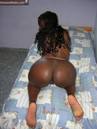 Awesome Kenyan Girl Naked Ass