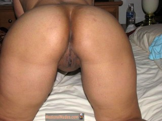 Bent Over Filipino Ass and Pussy
