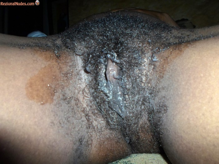 Bushy Old South African Pussy Dirty and Wet