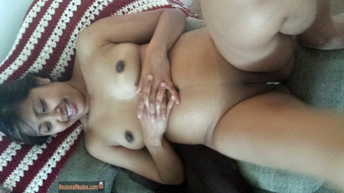 Chubby Indonesian Female Naked in Bed