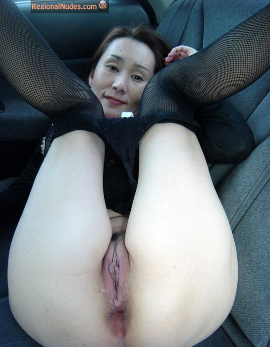 Japanese Female Pussy Legs Up Stockings