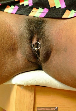 Kenyan Pussy with Piercing