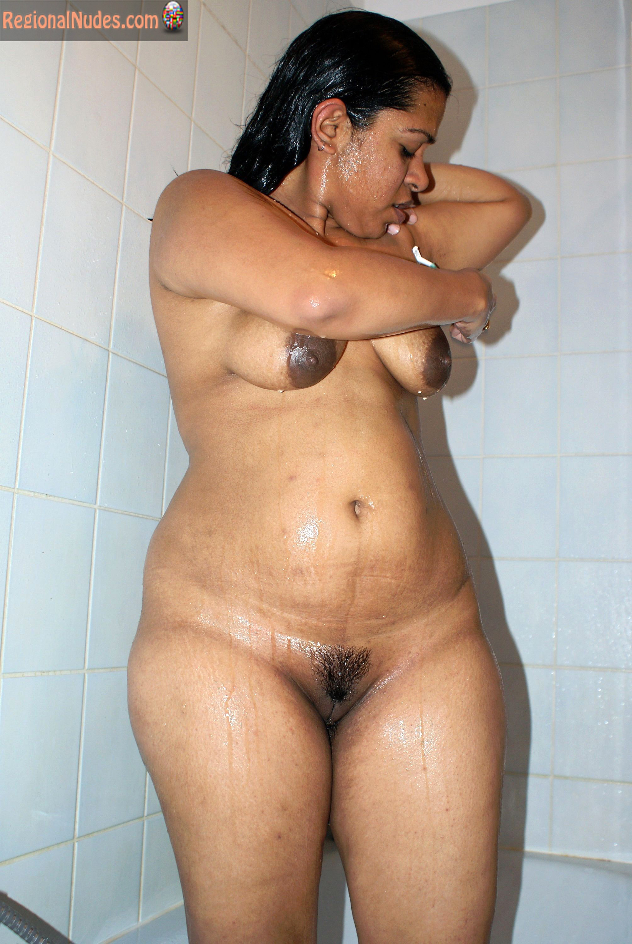 Ordinary Wet Indian Naked Wife Shaving  Regional Nude -2705