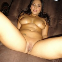 Silky Nude Attractive  Brazilian Woman