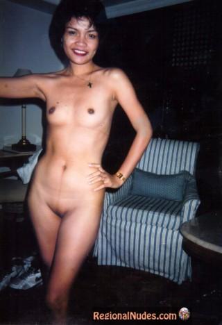 Vintage Nude Filipino Woman