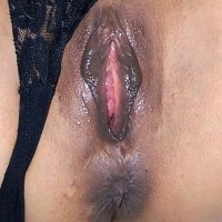 Wet Mature Thai Vagina Exposed