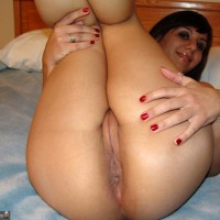 Argentine Girl Legs Up Big Shaved Pussy Ass