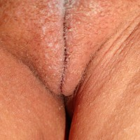 Dirty Aussie Vulva Close-Up