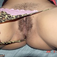 Flashing Trimmed Hairy Cuban Genitals