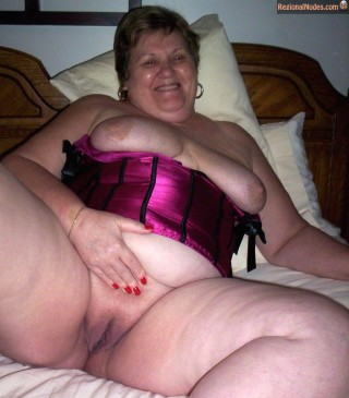 Naked Really Fat Canadian Granny
