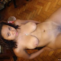 Shaved Cuban Female Fully Naked Body