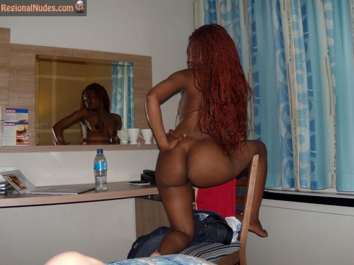 African Redhead Bubble Butt Zimbabwean HD