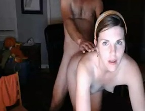 American Babe Bent Over Fucking