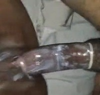 Creampie Tanzanian Cunt Fucking Close-Up