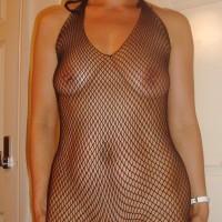 Naughty Briton Lady See Through Body