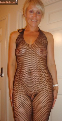 Naughty Briton Lady See Through Body
