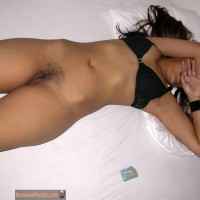 Brazilian Whore Hiding Face Exposing Pussy