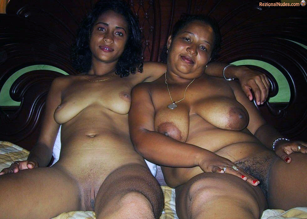 Colored Nude Jamaican Mother And Daughter  Regional Nude -6205