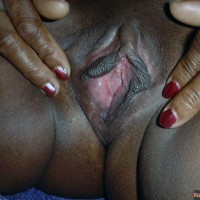 Fat Ebony Haitian Vagina Spreading