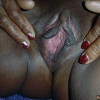 Fat Ebony Haitian Vagina Spreading