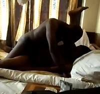 Fucking Tanzanian Bitch in Bed