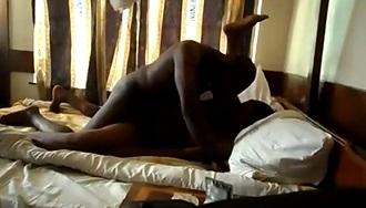 Fucking Tanzanian Bitch in Bed