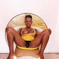Egyptian Woman Bushy Pussy Flashing Tits