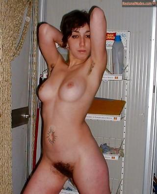 Nude Portuguese Woman Bushy Pussy
