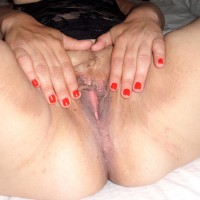 Shaved Mature Spanish Vagina Spreading