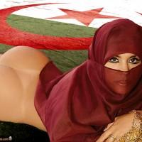 Algerian Burka Girl Bare Butt