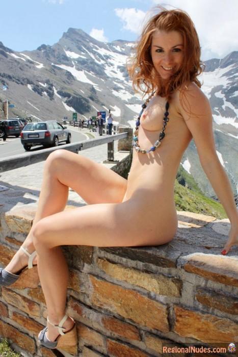 Beautiful Austrian Girl Public Nudist In Vienna  Regional -6578