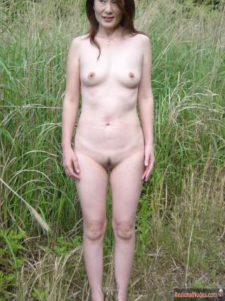 Mature Japanese Naturist Woman