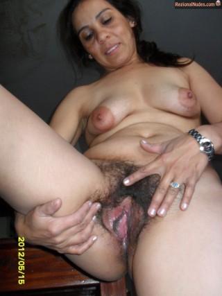 Nude Latina Slut Mexican Wife Spreading Cunt