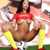Angolan Football Girl Pussy and Boobs
