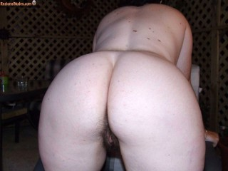 Bent Over Naked Australian Wife Thick Ass