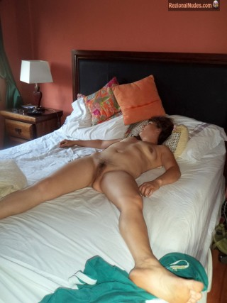 Chilean Woman Sleeping Naked