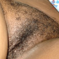 Congolese Hairy Pussy Close-Up