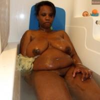 Fat Black Nude Canadian Woman Bathing