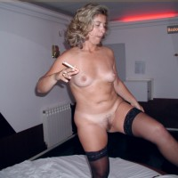 Naked Wife Smoking from Portugal