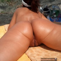 Nice Bulgarian Nudist Woman Ass & Pussy